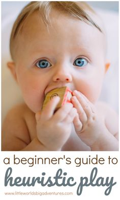 A beginner's guide to heuristic play kid ideas - родители Kids And Parenting, Parenting Hacks, Heuristic Play, Teething Symptoms, Futur Parents, Cool Baby Names, Church Nursery, Be My Baby, Sensory Play