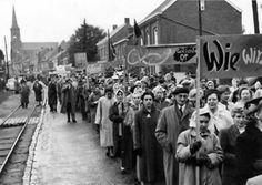 1956. Betoging tegen Collard.