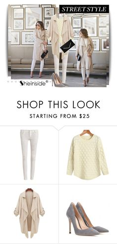 """""""Sheinside 5"""" by dinna-mehic ❤ liked on Polyvore featuring Gianvito Rossi and Sheinside"""