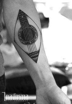 Trendy Ideas Music Tattoo Ideas Guitar - You are in the right place about Trendy Ideas Music Tattoo Ideas Guitar Tattoo Design And Style - Foot Tattoos, Body Art Tattoos, New Tattoos, Small Tattoos, Tattoos For Guys, Sleeve Tattoos, Music Tattoo Sleeves, Wing Tattoos, Celtic Tattoos