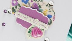 Create this Grateful For You Card with April's Card Kit of the Month!