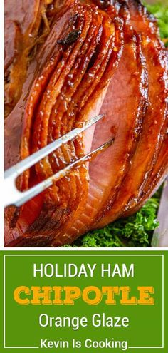 Spiral cut holiday ham is baked to perfection with a savory orange glaze. Spread joy this holiday season by making this your entreé!