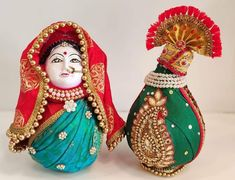 Indian Wedding Gifts, Desi Wedding Decor, Indian Wedding Decorations, Wedding Crafts, Wedding Events, Thali Decoration Ideas, Diwali Decorations, Coconut Decoration, Marriage Gifts
