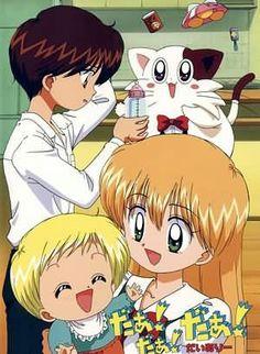 Daa! Daa! Daa! Cutest anime and manga I've encounter