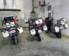 Looks heavy but easy to ride, this is the beauty of an Adv Bike  #bmw #bmwmotorrad #bmwmotorcycles #triumph #advrider #super_adv_riders #r1200gs #multistrada #explorer1200 #adventure #touratech @touratech_usa #wunderlich #tiger1200 #ktm_motorcycles @bmwmotorrad_bahrain @bmw_euromotorsbh #makelifearide @swimsbh @d1milanobh @velvet.life #almoayyedmotors #F800 #gs #bmwgs #ducati #honda #aprilia #Yamaha