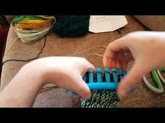 Loom Knitted Socks - YouTube