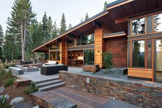 Martis Camp 97 | Projects | Ward-Young Architecture