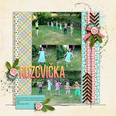 Digital layout using Amber Shaw, Kristin Aagard: About a Scout - Girl at Sweet Shoppe Designs