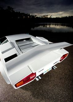 "Lamborghini Countach...the original supercar! Countach in Italian means roughly, "" va-va-voom!"""
