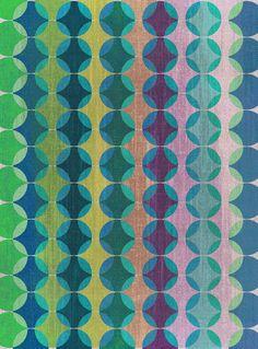 Colour Harmonies II Art Print