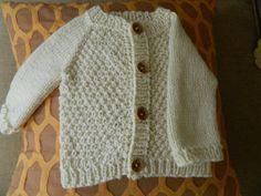Natural Vanilla White Baby Boy / Baby Girl Knit by RodiAndSuzi, $35.00 Knit Baby Sweaters, Handmade Baby, Baby Knitting, Sweater Cardigan, Vanilla, Baby Boy, Boys, Natural, Cotton