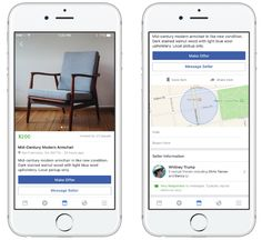 Facebook launches Marketplace where users can Buy and Sell things. So basically marketplace is where you can search for things that people are selling nearby or you can list what you want to sell directly from the app.