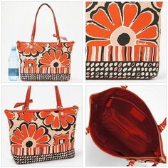 Coach Poppy Scarf Floral Tote Bag $112