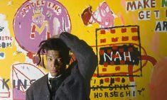 Jm Basquiat, Jean Michel Basquiat, Modern Art Paintings, Easy Paintings, Famous Art Pieces, Famous Abstract Artists, Famous Modern Artists, Most Popular Artists, New York Art