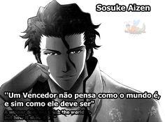 Os Inofensivos: Frase De Sōsuke Aizen - Bleach