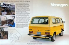 1982 volkswagen vanagon nada