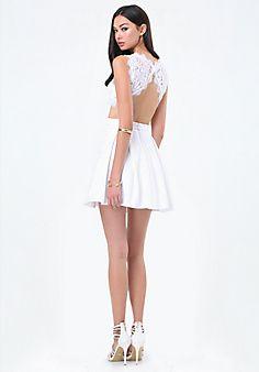 Carlie+Lace+Open+Back+Dress