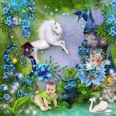 Ma page réalisée avec le kit essentiel La fée bleue de KittyScrap Photo Mike Orlov  http://www.mikeorlov.com/