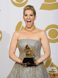Joyce DiDonato with her WELL DESERVED Grammy.