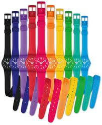 Swatch the Rainbow with the 'Lady Collection' from Japanese artist Hideaki Kawashima.