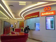 AmBank Currency Exchange Counter, Kuala Lumpur International Airport 2, Malaysia