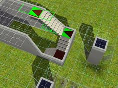 TSR - Tutorials / Creating U-Shaped Stairs in The Sims 3 -escaliers This looks super helpful for an architect to know! Sims 3 Pc, Sims Love, Sims 3 Mods, My Sims, Sims 3 Houses Ideas, Sims Ideas, Sims 4 Houses, Sims 4 House Building, Sims House Plans