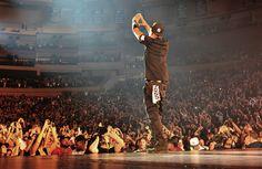 "Jay-Z. (""Watch the Throne Tour,"" Madison Square Garden, New York, New York, December, 2011.)"