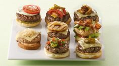 GOURMET BURGERS TO MAKE AT HOME ... Break out of the ketchup, mustard and pickle routine to create your own signature burgers.