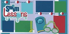 Swim Lessons Page Kit