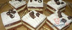 Fantastické kávové řezy s vanilkovým krémem a piškoty   NejRecept.cz Cake, Sweet, Food, Basket, Candy, Kuchen, Essen, Meals, Torte