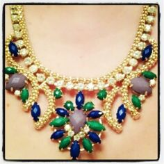Jenna Statement necklace @Wendy Werley-Williams.lulu-le.com