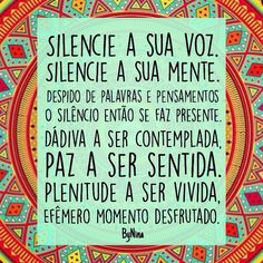 Silencie a sua voz