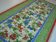 Hey, I found this really awesome Etsy listing at https://www.etsy.com/listing/502626536/quilted-table-runner-handmade-table-mat