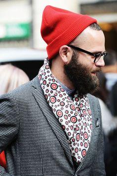Hipster, Men's Fall/Winter Street StyleFashion.
