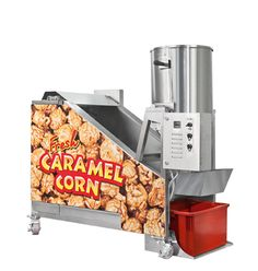 Want to caramel coated popcorn machine, then there is only one stop destination is Robopop. We are providing you advance technology products which help you to prepare the enough volume of the popcorn. You no need to work hard for the preparing popcorn. Our machines require easy maintenance and produce tasty and crunchy movie style popcorn.
