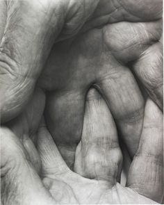 by John Coplans    #Hands say so much about the work you do!