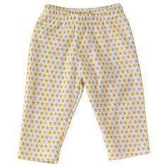 Pigeon Organic Seaside Collection - starfish print leggings in organic cotton