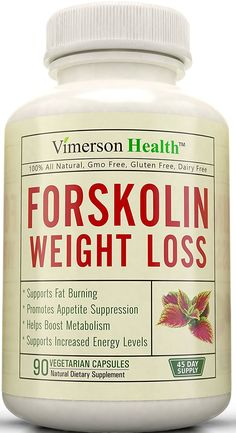 45 DAY SUPPLY - Forskolin Extract for Extreme Weight Loss. Best Diet Pills That Work Fast for Women and Men. Premium Appetite Suppressant, Metabolism Booster