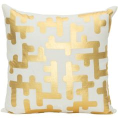 Lakshya Decorative Pillow (€330) ❤ liked on Polyvore featuring home, home decor, throw pillows, pillows, modern home decor, handmade home decor, geometric throw pillows, modern throw pillows and modern home accessories