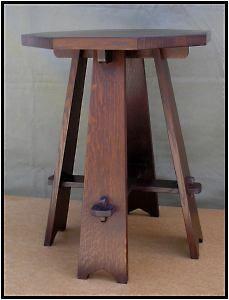 Limbert-inspired Octagonal Taboret (Table)