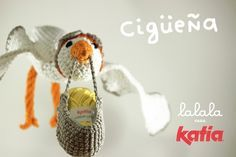 Lalala Cigüeña Amigurumi - Patrón Gratis en castellano