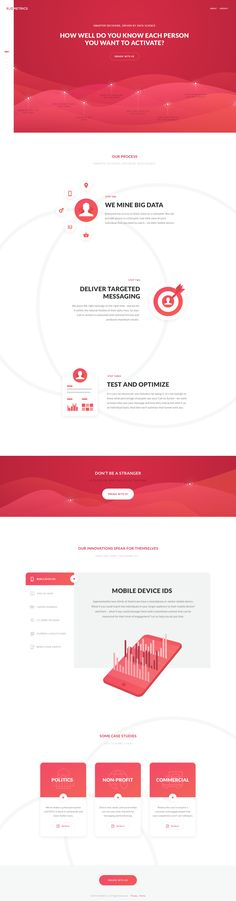 Dribbble - RedMetrics_Website.png by David Kovalev