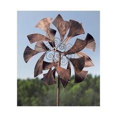 Metal Wind Spinner Garden Kinetic Sail Sculpture Yard Ornament Lawn Decor  Art