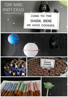 These Star Wars party ideas are easy and AWESOME!