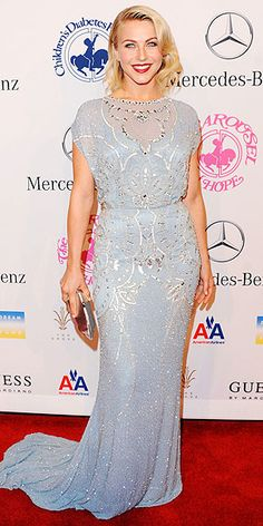 Julianne Hough - Carousel of Hope Ball 2012 in Jenny Packham