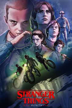 Stranger Things by ArtofTu.deviantart.com on @DeviantArt
