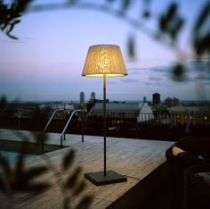 Marset - TXL outdoor lamp by Joan Gaspar #floorlamp #floor