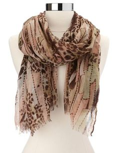 add a little flare to your must have outfit with these scarves.