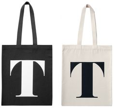 Tote bags from Alphabet Bags