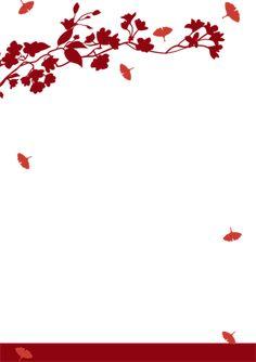 invitations (red Autumn)